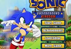 Sonic si  Regatul Subteran