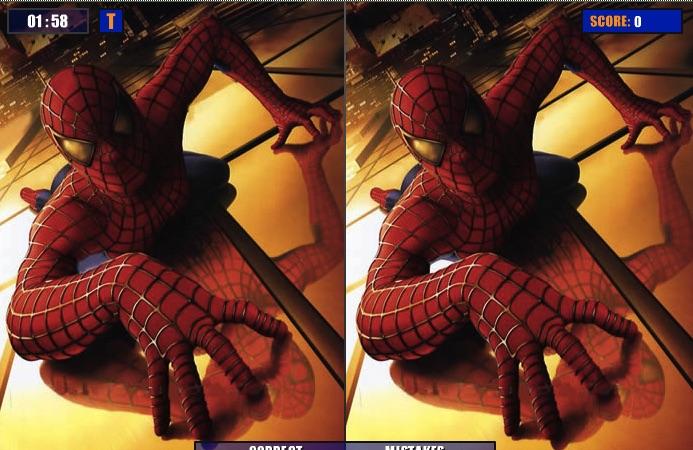 Spiderman cu Diferente