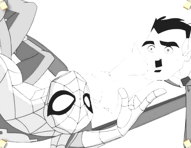 Spiderman si Jona Jameson