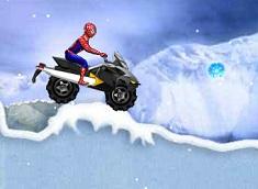 Spiderman si Scuterul de Zapada