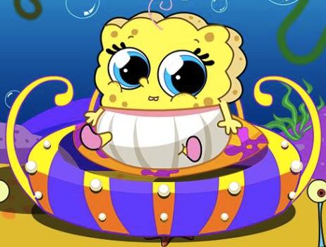 Spongebob Bebelus de Ingrijit