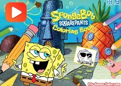 Spongebob Carte de Colorat