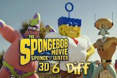 Spongebob in Afara Apei 6 Diferente