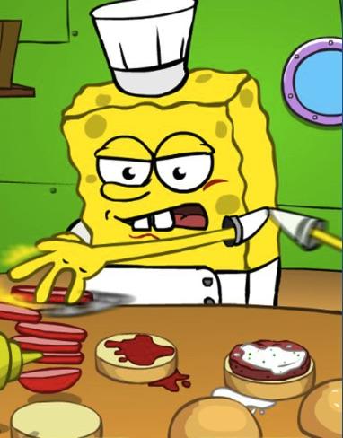 Spongebob la Restaurant