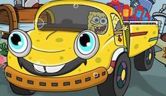 Spongebob Puzzle cu Camionul