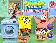 Spongebob si Patrick Spala Pantaloni