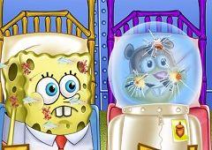 Spongebob si Sandy Primul Ajutor