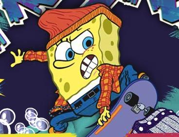 Spongebob Skater Profesionist