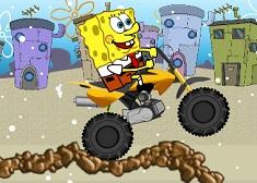 Spongebob Snowbike
