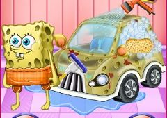 Spongebob Spala Masina