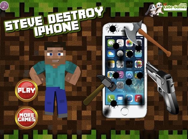 Steve Distruge Telefonul