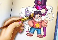 Steven Universe Carte de Colorat…