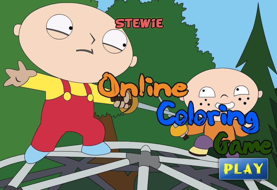 Stewie de Colorat