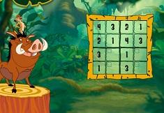 Sudoku cu Timon si Pumba
