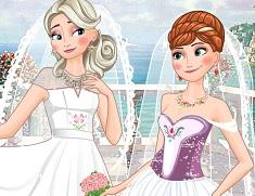 Surorile Frozen Nunta Dubla