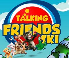 Talking Friends Ski