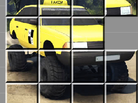 Taxi Rusesc Puzzle