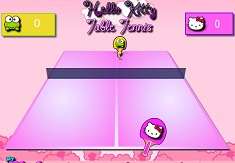 Tenis de Masa cu Hello Kitty