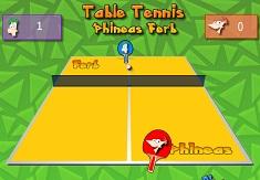 Tenis de Masa cu Phineas si Ferb