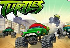 Testoasele Ninja cu Monster Truck