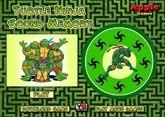Testoasele Ninja Joc de Memorie