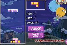 Tetris cu Finn si Jake