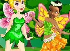 Tinkerbell vs Iridessa de Imbracat
