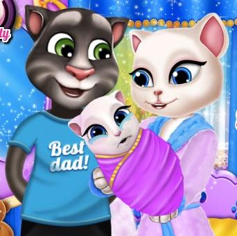 Tom si Angela Portret de Familie
