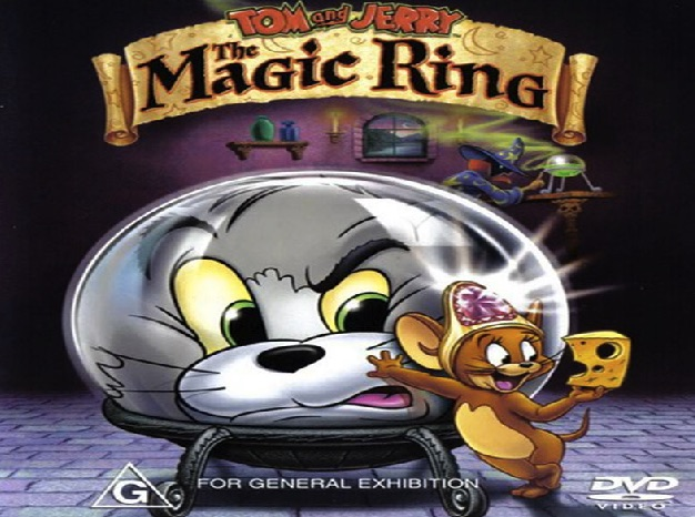 Tom si Jerry Puzzle cu Inelul Magic