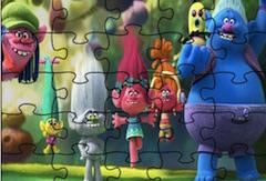 Trolls Jigsaw
