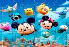 Tsum Tsum Puzzle cu Personaje