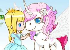 Unicornul si Fetita