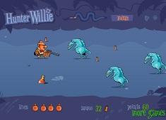 Vanatorul Willie si Dinozaurii