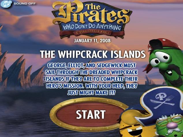 Veggie Tales Pirati