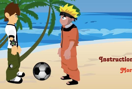 Volei cu Naruto si Ben 10
