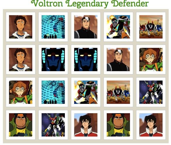 Voltron Aparator Legendar de Memorie