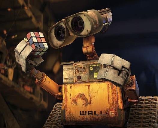 Wall-E si Cubul Rubic