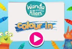 Wanda si Extraterestrul Colorat