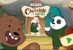 We Bare Bears Artisti cu Ciocolata