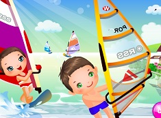 Windsurfing cu Bebelusi