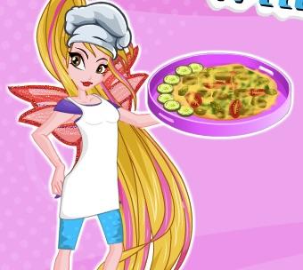 Winx Flora Gateste Pizza