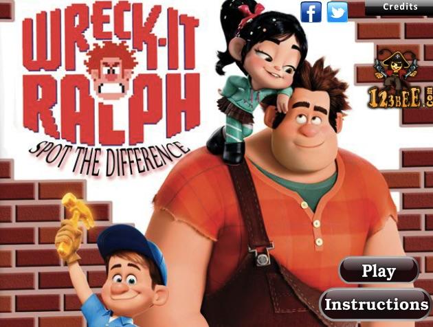 Wreck it Ralph cu Diferente