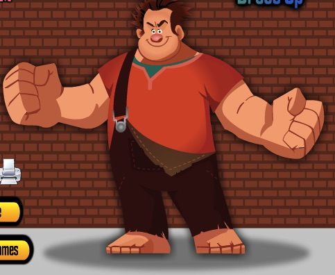 Wreck it Ralph de Imbracat