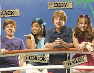 Zack si Cody Poze in Mare