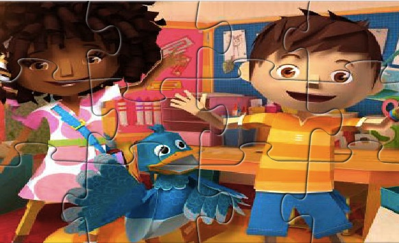 Zack si Quack Puzzle