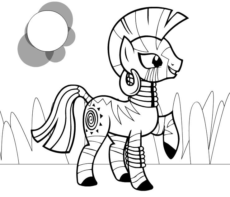 Zecora Equestria Jocuri Cu Micul Meu Ponei