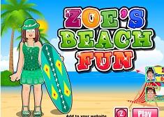Zoe la Plaja