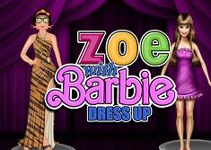 Zoe si Barbie