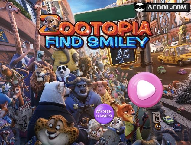 Zootopia Gaseste Smiley