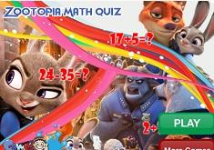 Zootopia Test de Matematica